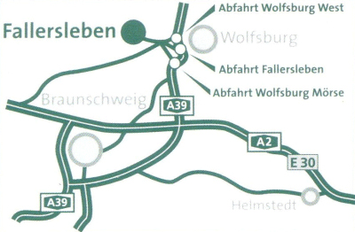 Hoffmannhaus | Hotel-Restaurant | Fallersleben | Anfahrt