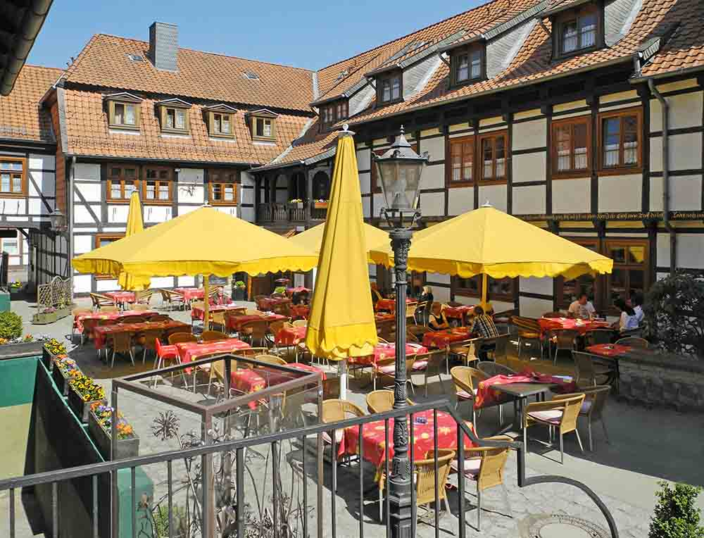 Hoffmannhaus | Hotel-Restaurant | Fallersleben | Der Innenhof